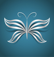 Butterfly design concept vector image vector image