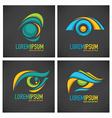 eyes logo vector image