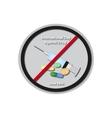 International Day Against Drug - June 26 Baner vector image
