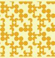 irregular circle grid seamless pattern vector image
