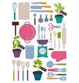 kitchen kit vector image