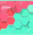 light mosaic background vector image vector image
