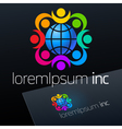 Logotype for Business Corporation vector image