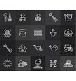 outline icons thin flat design modern line stroke