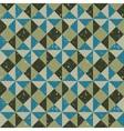 retro background geometric vector image vector image