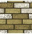 seamless brickwork vector image vector image