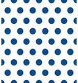 seamless polka dot pattern colorful stamp vector image vector image