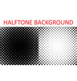 set of grunge halftone background halftone radial vector image