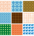 set of patterns - geometric textures vector image vector image