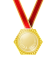 Medal for the winner vector image
