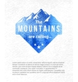 Mountain label