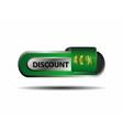 40 percent discount green button