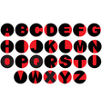 Alphabet - vinyl record letters vector | Price: 1 Credit (USD $1)