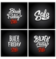 Black Friday Sale backgrounds vector image vector image