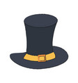 gentleman old hat vector image vector image