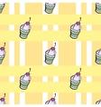 Ice cream pattern2 vector image vector image