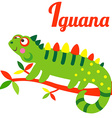 IguanaL vector image vector image