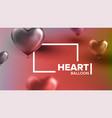 international world heart day modern banner vector image vector image
