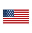 memorial day flag national symbol american vector image vector image