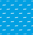 origami ribbon pattern seamless blue vector image vector image