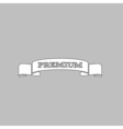 Premium label Icon vector image vector image