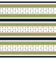 retro pattern with horizontal stripes vector image