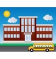 School Welcome back to school vector image vector image