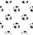 soccer or football ball pattern seamless vector image vector image