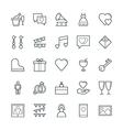 Wedding Cool Icons 2 vector image