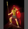 ares greek god war vector image vector image