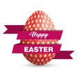 eggs painted easter celebration vector image