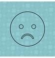 emoticon icon design vector image