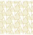 geometric art deco elegant seamless pattern vector image vector image