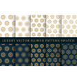 Golden luxury swatches pattern pack