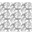 hand arms palms lines grayscale semaless pattern vector image