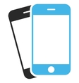 Mobile Phones Eps Icon vector image