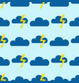 seamless pattern cloud art nature sky background vector image
