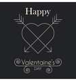 Abstract valentines day hearts eps10 vector image vector image