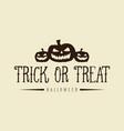 background of halloween with pumpkin vector image vector image