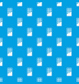 chocolate bar pattern seamless blue vector image vector image