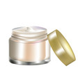 cosmetic cream vector image
