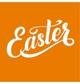 Easter Typographical Background vector image