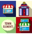 Elements for city vector image vector image