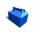 Gift craft Box for Design vector image