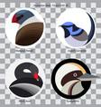 logo birds vector image vector image