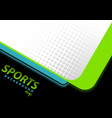 modern abstract background in sport style vector image vector image