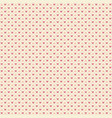 seamless geometric pattern with hearts repeating vector image vector image