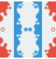 Seamless pattern stylish background vector image