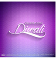 subh diwali typographic design with abstract vector image