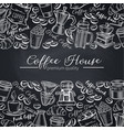 template coffee shop page design vector image vector image